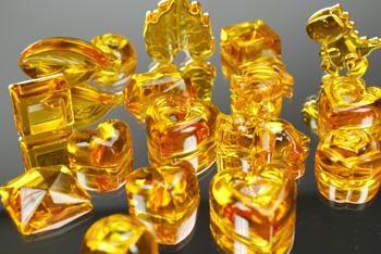 Resina cristal Gedeo