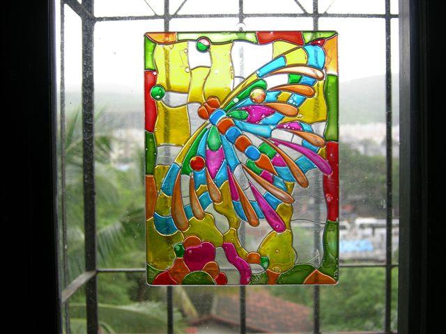 Pintura para cristal