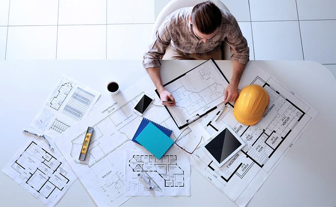 Mesa para arquitectos