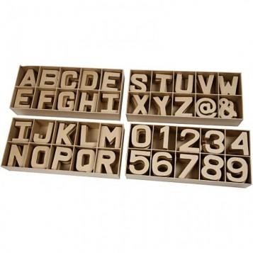 Letras Cartón 10 cm