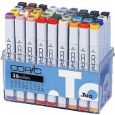 Cajas Copic Marker
