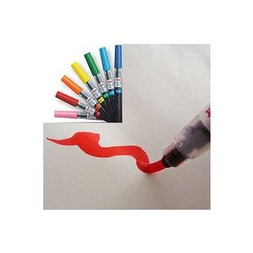 Rotulador Pincel Pentel Fudepen GFL Colores