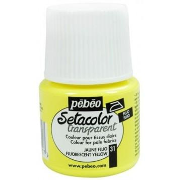 Setacolor Pébéo Transparente 45 ml