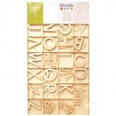 Kits alfabetos de madera