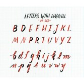 Rotuladores acuarelables para lettering