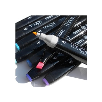 Shinhan Touch Markers Twin Negro