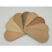 Chapa de madera flexible