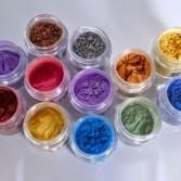 Pigmentos metalizados