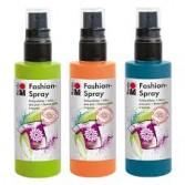 Pintura spray para tela Fashion Spray Liner Marabu
