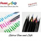 Rotulador Pentel Sign Pen Brush Artist