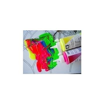 Acrílicos fluorescentes Vallejo 200
