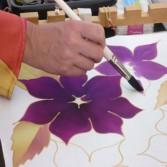 Pintura en Seda