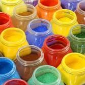 Pigmentos y aglutinantes