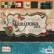 Papels Decorados Scrapbook The Mariposa Bloc