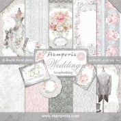 Scrapbooking Wedding stamperia SBBL18