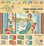 Graphic45 Papel Decorado Scrap Home Sweet Home 4501077