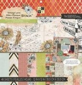 Bloc Papel Scrapbook Vintage Lane DPS500321