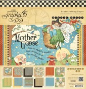 Graphic45 Papel Scrap Mother Goose Collection