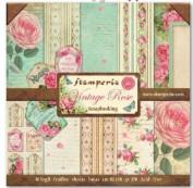 Stamperia Vintage Rose SBBL04