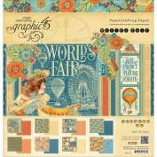 Graphic45 Bloc Papel Scrap 4501177