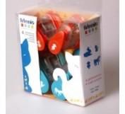 Kit de 4 Perforadoras 10003017 ANIMALES Artemio