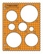 Plantilla ShapeCutter Fiskars 4850 Círculos