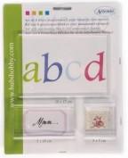 Set de 3 bloques para montar tampones con los sellos 18002013