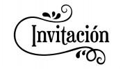 Invitación. Sello Madera Artemio ARTHD697