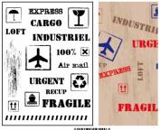 Set sellos transparentes 10001312
