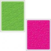 Texturas Sizzix Conjunto de Flourishes y Vides 656259