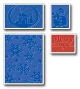 Sizzix Texturas Set Navidad E655841