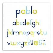 Toga DCZ04 Abecedario Pablo
