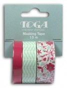 Washi Tapes mt114 Set 3 rollos