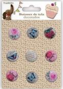 Candy & Coquette Botones Tela Decorados 11.006.07976.0