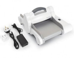 Máquina para troquelar eléctrica BIG SHOT EXPRESS White and Grey boca 15cm