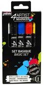 4ARTIST MARKER Set colores básicos