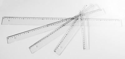 Regla metraquilato DHF de 2mm de grosor 60 cm