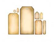 Set 8 troqueles FRAMELITS Tag collection by Tim Holtz E658784