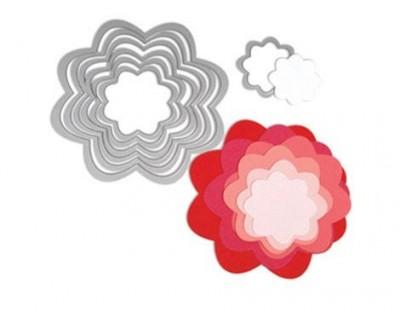 Set 7 troqueles FRAMELITS Flores E657553