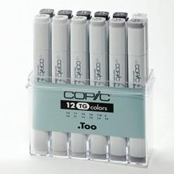 Copic Marker 12  grises Toner C20075153