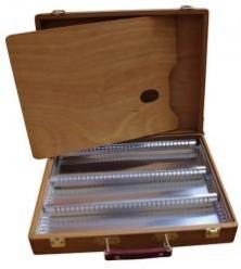Caja madera vacía para pinturas 893