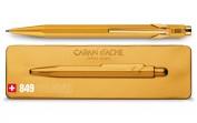Bolígrafo metal Caran d'Ache Goldbar 849999