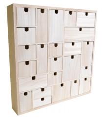 Calendario adviento 24 cajones Artemio 14002001