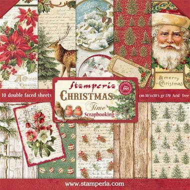 Stamperia Christmas Sbbl23