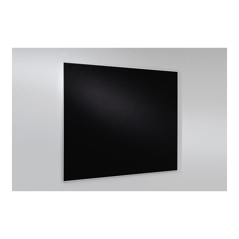Pizarra negra con marco de aluminio 60x90