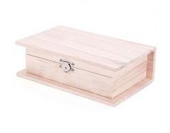 Caja de madera de pino 21545