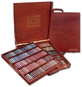 Sennelier: Caja madera 250 pasteles Ecu