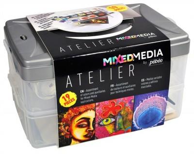 Caja taller Mixed Media Pébéo