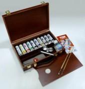 Caja pinturas oleo Titan 090804601