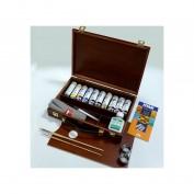 Maletín madera acrílicos Titan 095806401